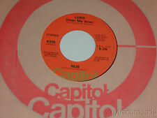 HUB Where There's Smoke There's Fire /Lord Hear Me Now 45 Capitol 4310 VG+ PSYCH