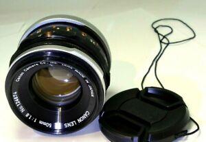 Canon f1.8 FL manual focus Lens for parts (problem with aperture)