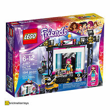 LEGO 41117 FRIENDS Pop Star TV Studio   Ages 6+   194 Parts   NEW SEALED