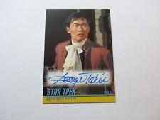 Star Trek TOS Captains Collection Autograph Card A283 George Takei