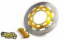 BRAND NEW Kawasaki KLR650 Brake Rotor oversized floating with Adapter (87-07)