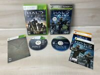 Halo Reach Halo Wars (Xbox 360, 2010) Lot Of 2 Games Complete W/ Manual Tested
