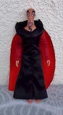 "JAFAR Doll 12"" LIMITED EDITION Aladdin Villain Disney Movie Figure Loose No Box"