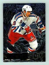 1996-97 METAL UNIVERSE WAYNE GRETZKY Insert Card # 96 Rare New York Rangers BV