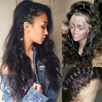 8A Body Wave Full Lace Wig 100% Virgin Indian Human Hair 360 Wigs More Baby Hair