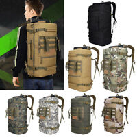 50L Backpack Rucksack Sport Bag Outdoor Camping Hiking Travelling Amy Military