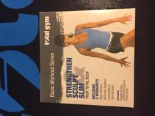 Total Gym Strengthen Sculpt and Slim DVD features Rosalie Brown