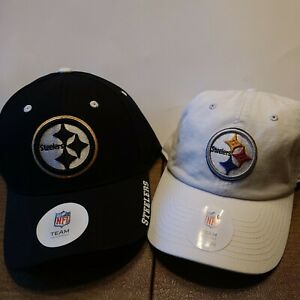 NWT NFL Pittsburgh Steelers Ball Cap Hat Adjustable One Size MSRP $25