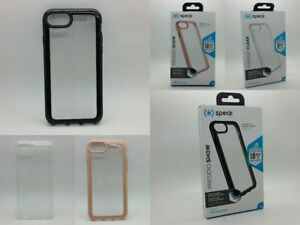 Speck Presidio Show Clear Case For Apple iPhone 6s,7 & 8 - Clear/Black/Pink