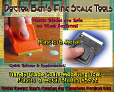 Handy Blade Scale Modeling Tool-DOCTOR BEN'S SCALE CONSORTIUM- TWO Blades!