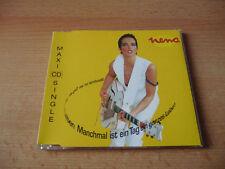 Maxi CD Nena - Manchmal ist ein Tag ein ganzes Leben - 1992
