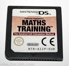 MATHS TRAINING GIOCO USATO DS & 3DS EDIZIONE ITALIANA SOLO CARTUCCIA