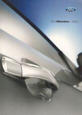 FORD Mondeo 2005 BROCHURE Mercato olandese st220 TITANIO GHIA X PLATINUM TREND