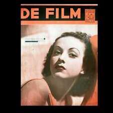 Dollshouse Miniature Newspaper - 1938 De Film -Dutch Movie Magazine