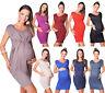 New Stunning Sleeveless V Neck Maternity Dress Top Size 8 10 12 14 16 18 8437