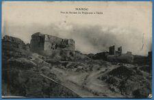 CPA MAROC: Vue du Bastion du Projecteur à TAZA / 1919