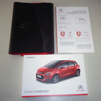 Owner's Manual + Wallet Citroen C4 Picasso From 2014