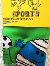 BOYS KNEE HIGH MR MEN BUMP QUALITY SKI SKIING FOOTBALL WELLY SPORT  BOOT SOCKS