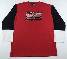 Vintage 90's DKNY 23 L/S T-Shirt Mens M Medium Bulls Jordan