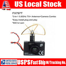 FX797T FPV 5.8G 40ch AV Transmitter TX Wireless Camera Leaf Antenna Kit For DJI3