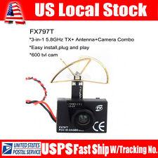 FX797T FPV 5.8G 40ch AV Transmitter TX Wireless Camera Leaf Antenna Kit For DJI3