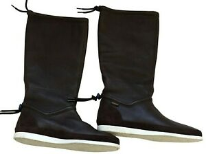 Paul Smith Mens Leather Suede Brown  Boots Size uk 7.5