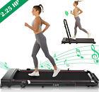 Folding Incline Treadmill Heavy Duty 300 lb Capacity Walking Running Machine LCD