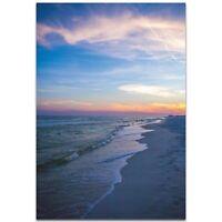 Coastal Wall Art Romantic Sunset Decor Tropical Palm Trees on Metal / Plexiglass