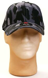 Under Armour Black & Gray Camo UA ArmourVent Training Cap Hat Men's L/XL NWT