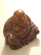 Figur Edelstein Happy Buddha Jaspis Feng Shui Reichtum und Glück