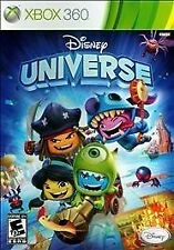 Disney Universe (Microsoft Xbox 360, 2011) COMPLETE FAMILY KIDS FAST SHIPPING