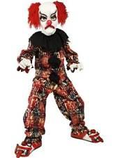 Clown Effrayant Déguisement Enfant Halloween Zombie Alley Déguisement Grand Âge