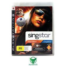 Singstar Pop Edition (PS3) Music - Singing - Karaoke - Fast Post