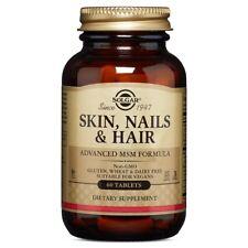Solgar Skin, Nails & Hair Advanced MSM Formula - 60 Tablets FRESH, FREE SHIPPING