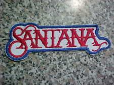 1970s Carlos Santana Original Patch Retro Vintage The #1 Choice Worldwide Ship!