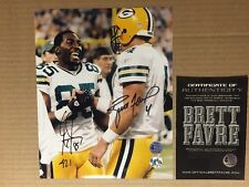 Packers Favre Signed, Record TD #421 Greg Jennings Signed 8x10 Photo