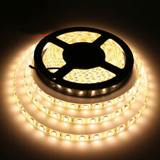 5M Warm White 24V 5050 SMD 300LED Strip light flexible 60led/m waterproof IP65