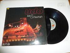 UDO JURGENS - UDO live & Hautnah - 1985 24-track German vinyl Double LP