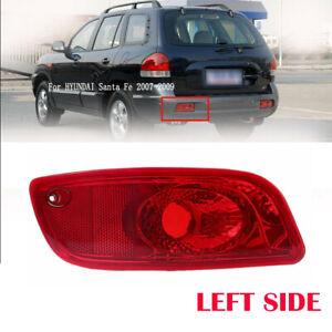 1x Rear Left Side Bumper Reflector Light Fit For Hyundai Santa Fe 2007 2008 2009