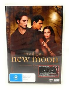 The Twilight Saga: New Moon (DVD, 2009) Robert Pattinson New & Sealed R4