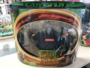 LOTR Orc Overseer Gandalf And Samwise Woolworths Exclusive Toybiz Triple Pack