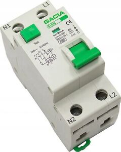 FI/LS-Schalter Sicherungsautomat Fi-Schalter Kombination RCBO B C 10-25A 30mA AC
