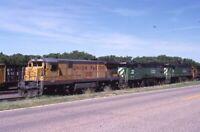 UNION PACIFIC Railroad Locomotive 2535Original Photo Slide