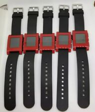 REFURBISHED RED Pebble 301RD Smartwatch watch Silicone iOS and Android GRADE A
