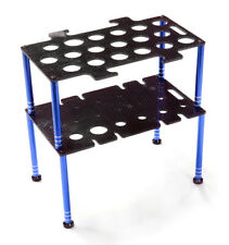 Integy C26599BLUE Team Edition Deluxe Machined Universal Shock & Tool Stand Kit