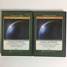 The Great Courses: Change and Motion Calculus Made Clear 2nd Edition DVDs.