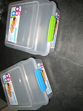 lot de 2 lunch box