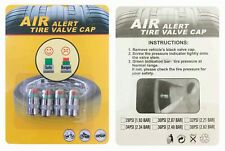 Air Tyre Valve Dust Caps - Air Alert - Safety Warning 36PSI UK SELLER - FREE P&P