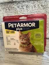 Pet Armor Plus Flea Tick 6 Month Dose For Cats & Kittens 1.5lb *NEW & SEALED*