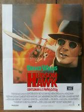 Affiche HUDSON HAWK Gentleman& Cambrioleur Bruce WILLIS Michael LEHMANN 40x60cm